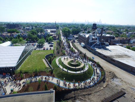 The Bloomingdale Trail Tour: A guided walk though the heart of The 606 - Saturday 9/23 @10:00am