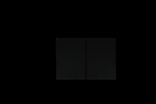 Pannello decorativo in PST antiurto nero laterale per ogni modello di Cocktail Station
