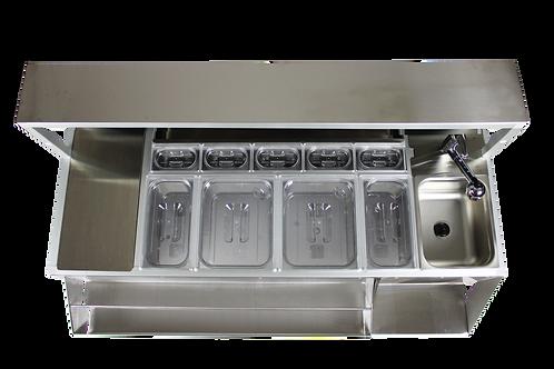 Set di coperchi per vasche in policarbonato o acciaio inox
