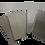 Kit Tappi in acciaio inox per Workstation Omega 15 da sostituire alle vasche