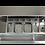 2 piani forati da 1/2 compatibili con le vasche da 1/2 di ogni Cocktail Station, in policarbonato o acciaio inox