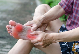 Treatment for foot pain.