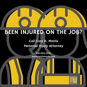 Personal Injury And Accident Related Injuries To Those Who Work Outdoors - Injured? Hurt? Call the Law Offices of Cory H. Morris 631-450-2515