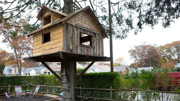 Permit not needed for Babylon treehouse,