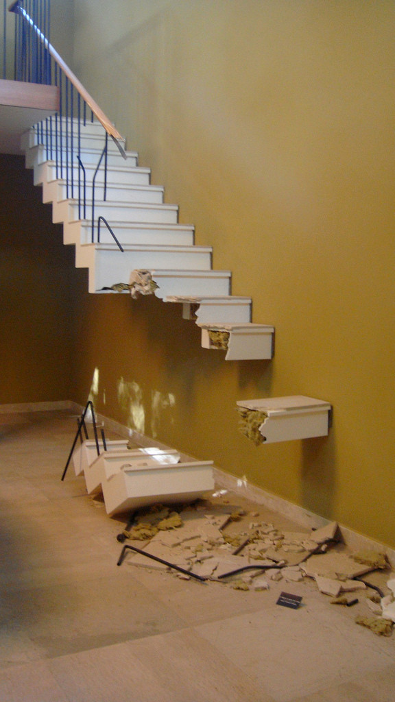 Broken Staircase causes Serious Injuries - Adverse Inference for Failure to Preserve Evidence Relating to that Serious Injury