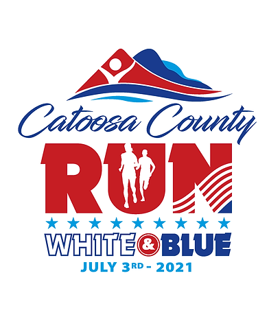 Catoosa County - Run White & Blue.png