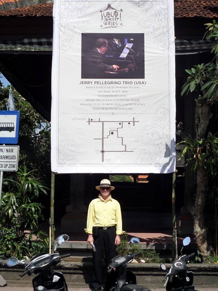 Banner at Palace