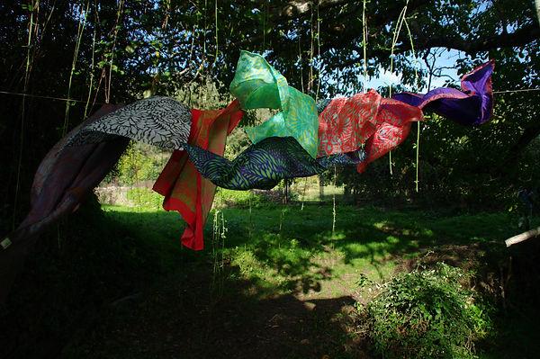 LASCLOE silk scarves