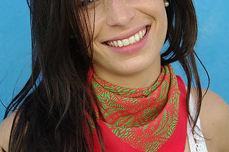 foulard soie TELANA marque LASCLOE