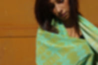 foulard soie TELANI marque LASCLOE