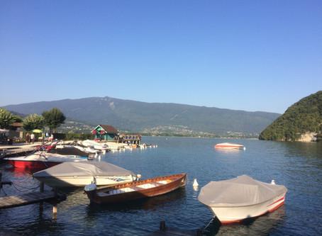 TALLOIRES, sur les rives du lac...