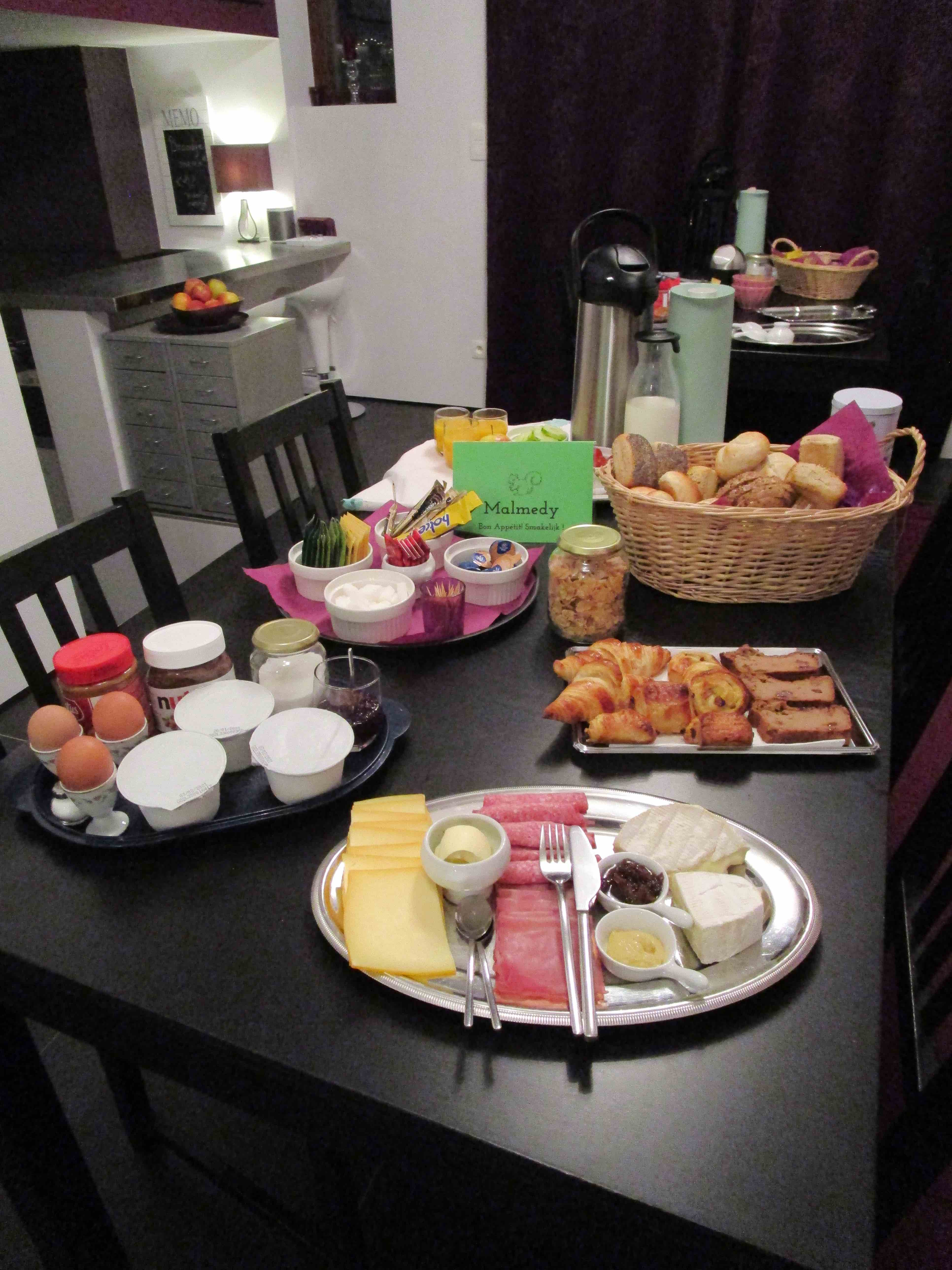 ontbijtbuffet Malmedy