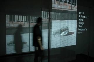 Video/Poetry Installation - Adrift
