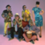 groovy group photo of the band moonligh magic