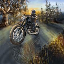 Bike Ride at Dawn