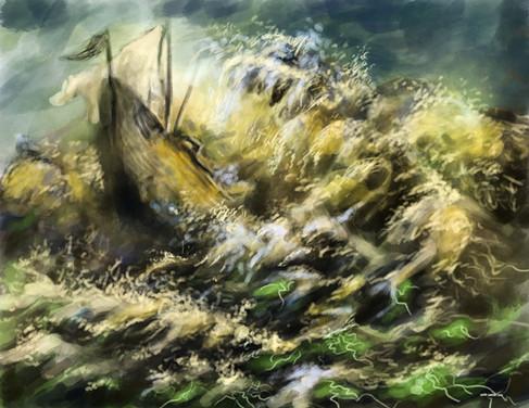 The Turbulent Sea