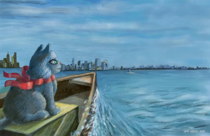 Cat Who Crossed The Ocean