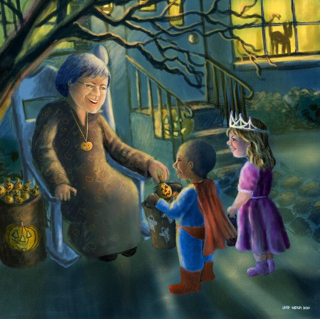 Grandma Loves Halloween