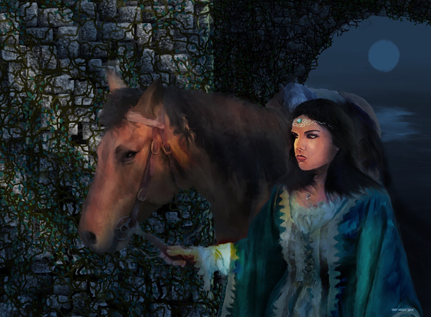 Leading A Horse