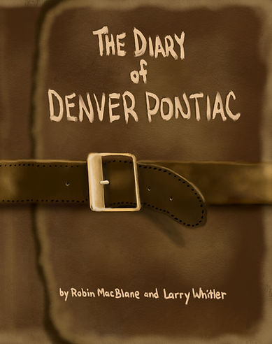 The Diary Of Denver Pontiac Book Cover.j