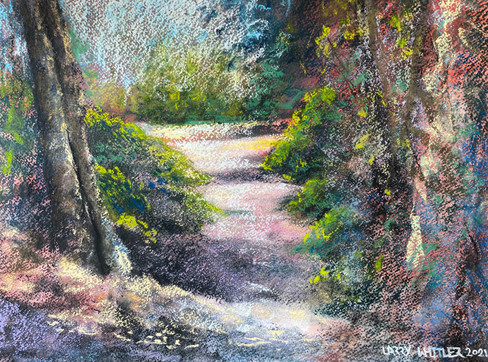 Florida Trail in Pastel