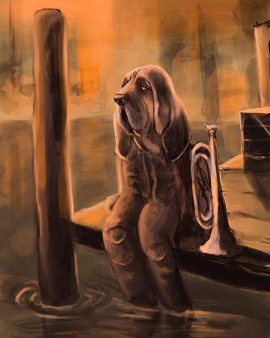 Bloodhound Bugler