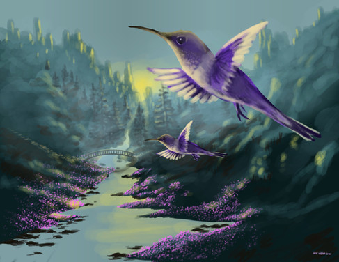 Hummingbird Return