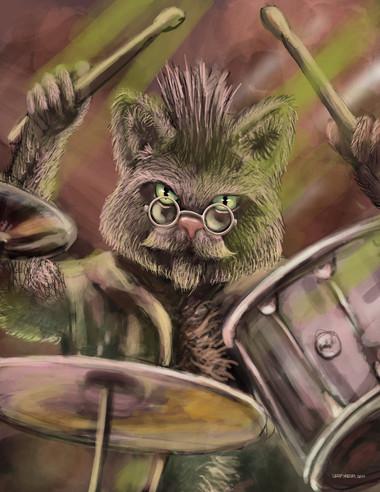 Cool Cat Drummer