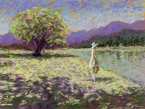 The Girl At The Lake
