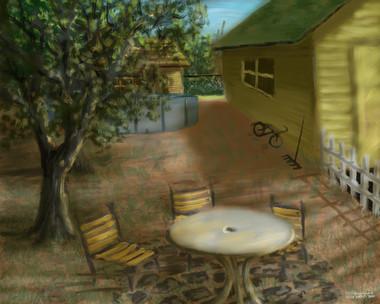 My Childhood Back Yard