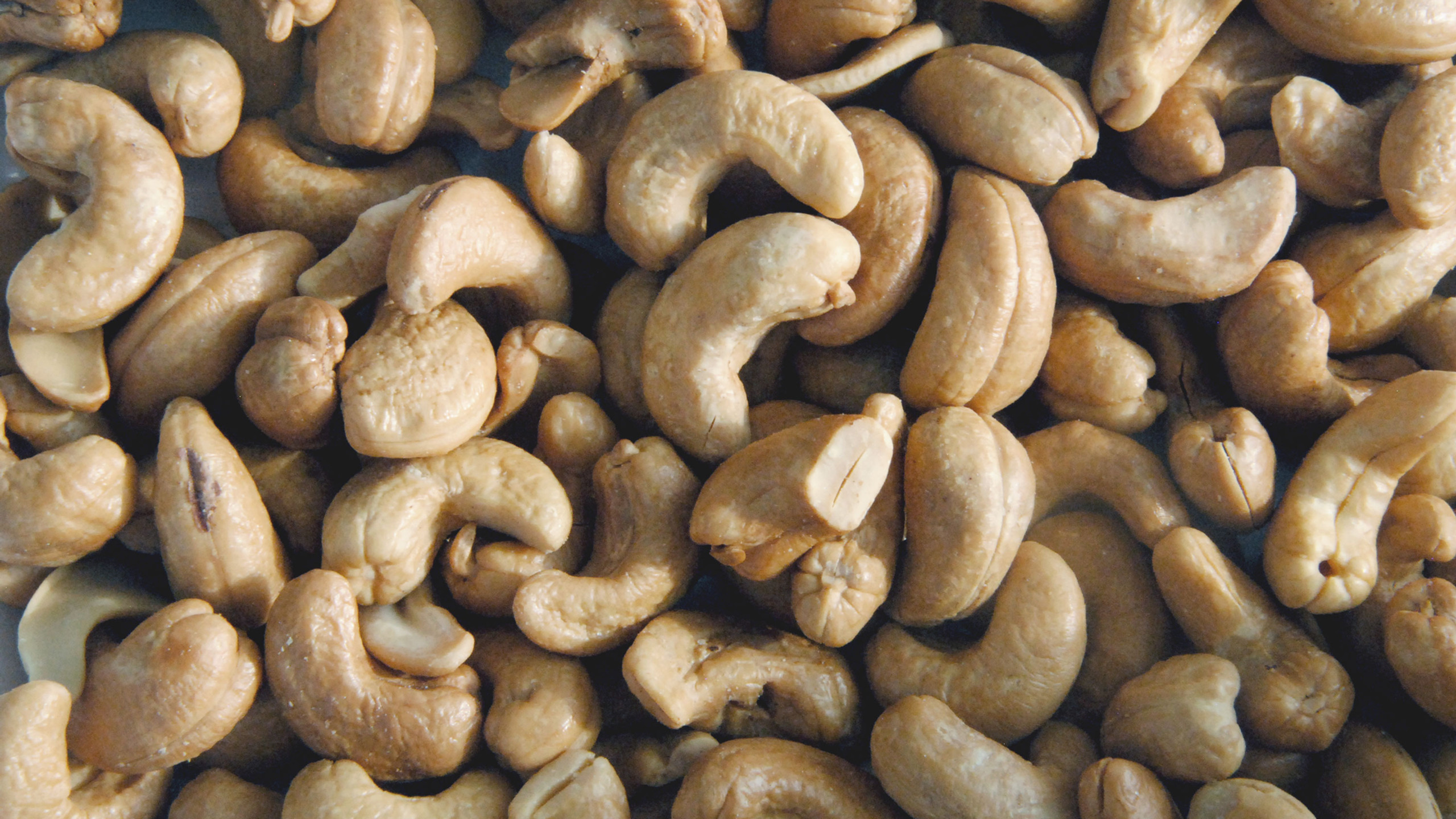 1 serving of raw cashews (about 15-18 nuts) has about 6 grams of protein and lots heart healthy fat. Make your own nut butter, or milk, toss into trail mix or eat plain as a snack.