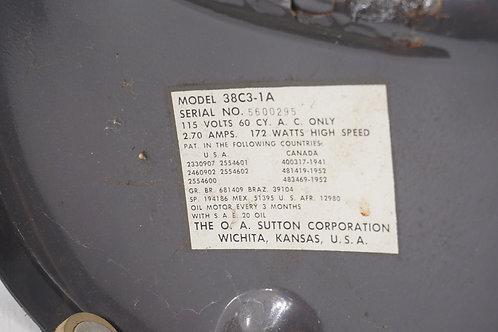 Oscillating Vornado Fan Model B38 C3-1 Works