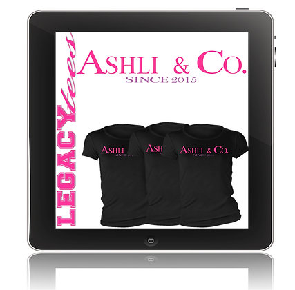 Ashli and Co. Baby Shower Tees