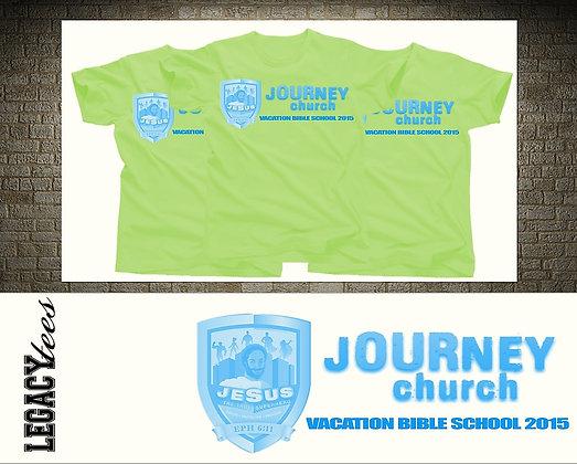 Journey UMC VBS Tees
