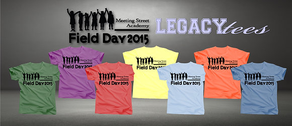 Meeting Street Academy Field Day Tees