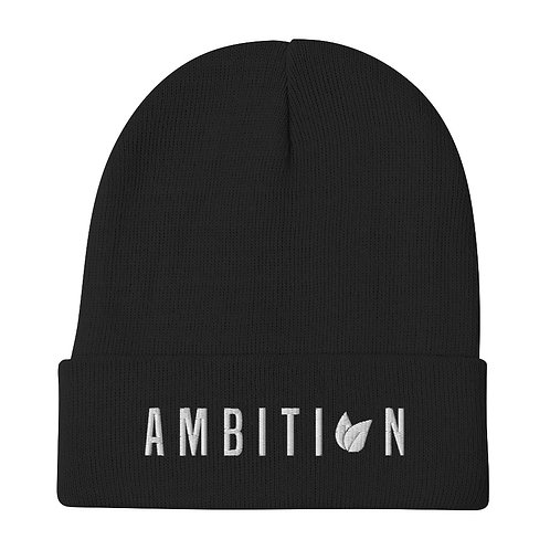 Ambition - Embroidered Beanie
