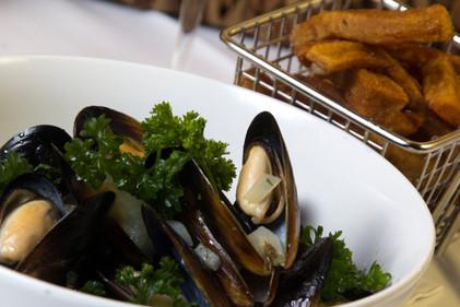 mussels a la mariniere