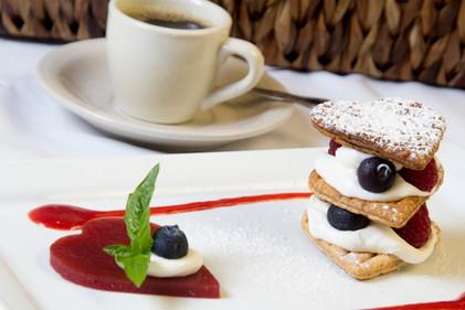 special dessert millefeuille