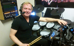 Drumming with Vance