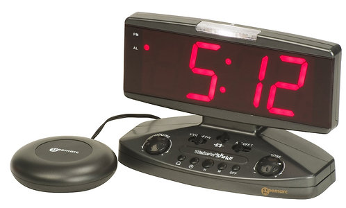 Wake-n-Shake Clock