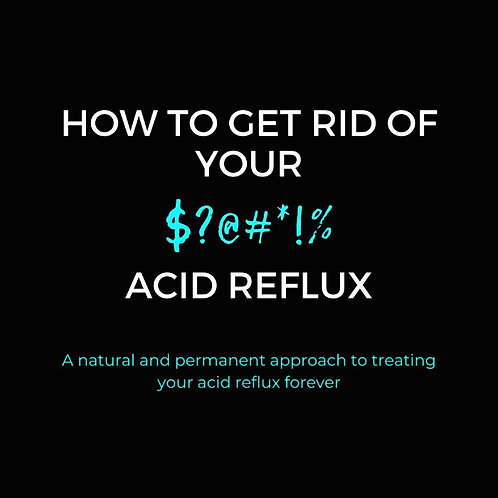 How to Get Rid of Your Acid Reflux