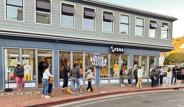 Threat to Black-owned business Yema an 'immature' prank, Tiburon police say