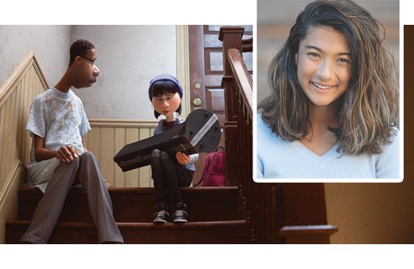 Tiburon girl debuts voice-acting skills in Disney Pixar's 'Soul'
