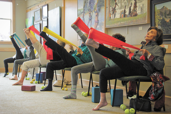 Chair Yoga For Seniors Give It A Try