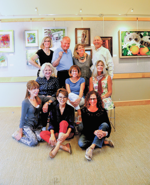 Budding artists get the spotlight in Tiburon Town Hall show