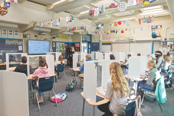 Teachers, students adapt to increasing return to classrooms