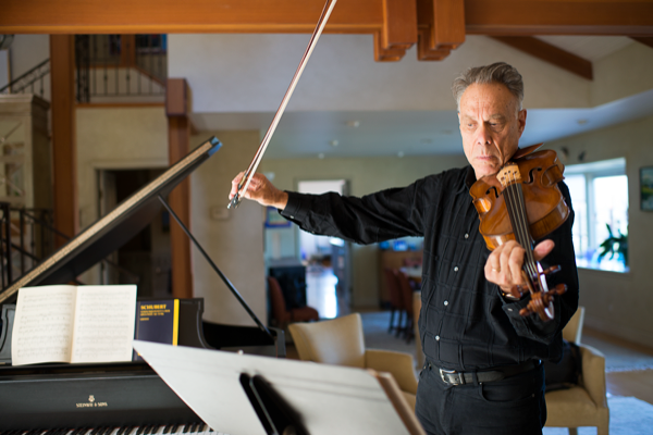 Tiburon violist to preview Marin Symphony concert at library talk