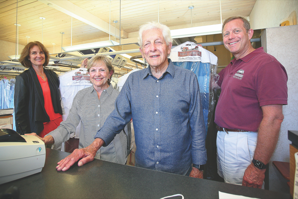 Vogue Cleaners marks 75 years on peninsula