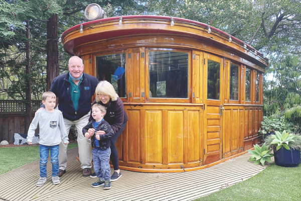 Wheelhouse of famed boat lives on in Tiburon backyard