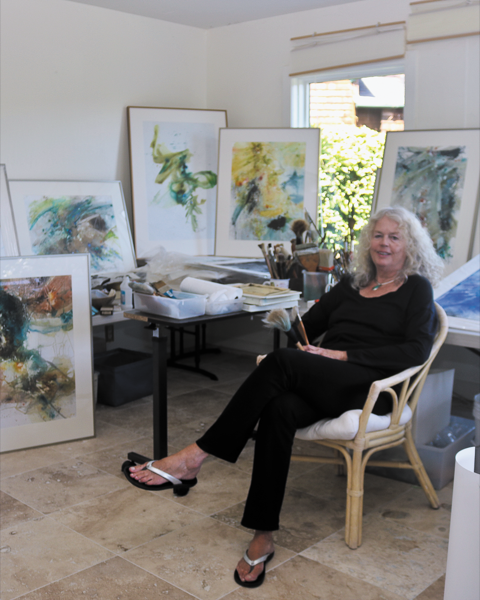 Tiburon artist draws her inspiration from water